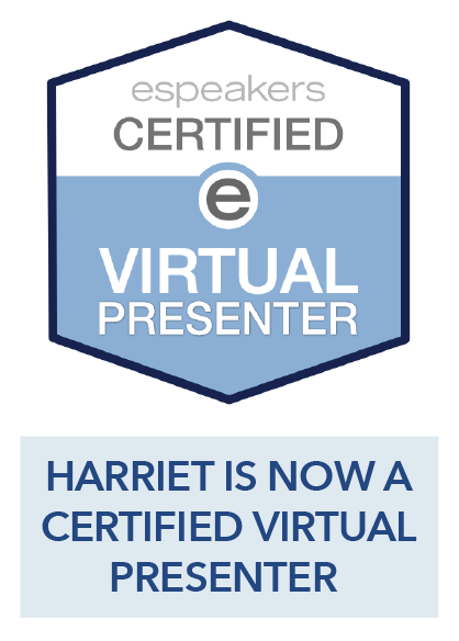 Harriet is Now a Certified Virtual Presenter